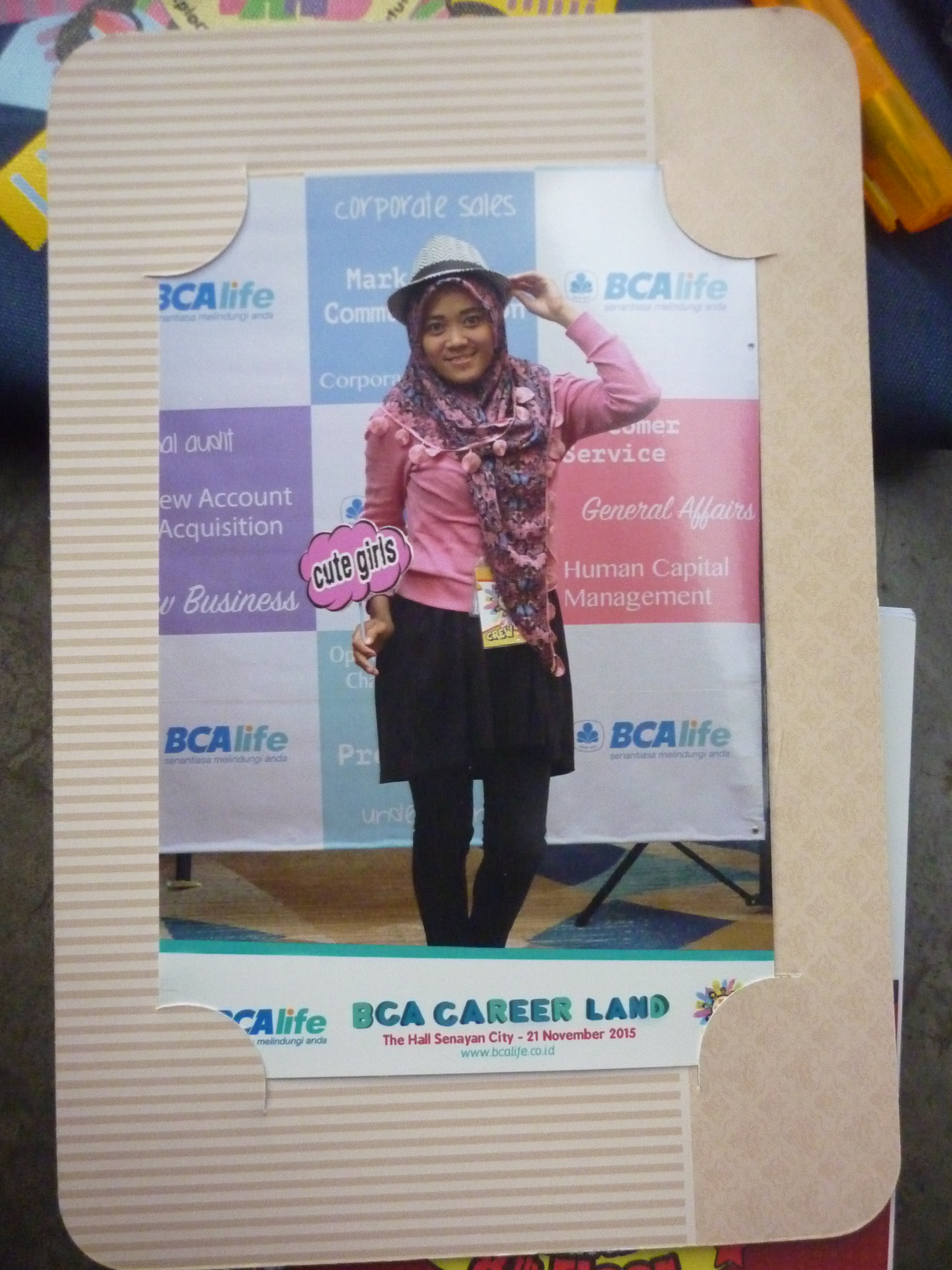 photo booth di BCA Life