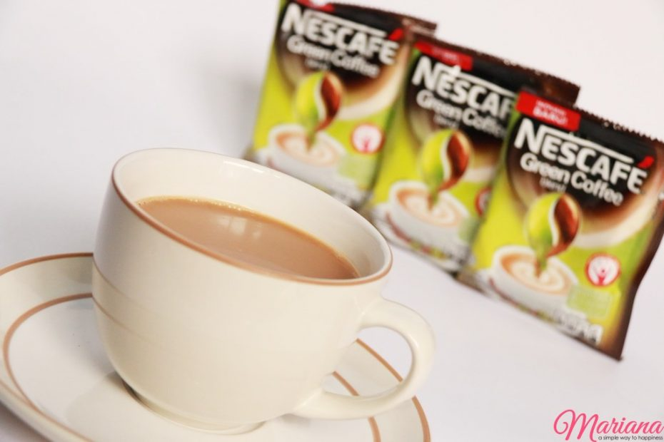 green coffee nescafe
